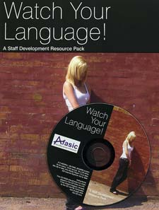 Afasic Watch Your Language Professional Pack
