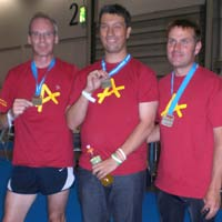 Winning medals for Afasic