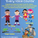 Get Talking and raise money with our 'Every Voice Counts' Appeal