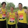 Afasic Marathon runners raise money for children who have problems talking and understanding what others say