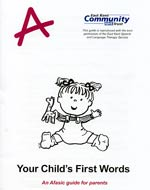 Your child's first words