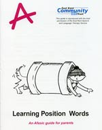 learning position words
