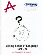 making sense of language - part one