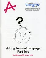 making sense of language - part two