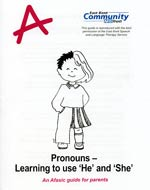 Pronouns - he and she