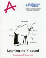 Learning the k sound