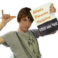 Afasic Parents Helpline for advice about speech and language difficulties
