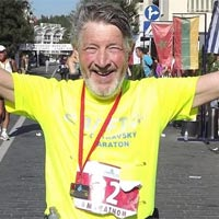 Keith Simpson runs for Afasic - 26 marathons in 26 countries