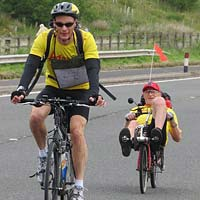 Afasic bike ride - June 2016 - raise money for children who have difficulies talking and understanding.