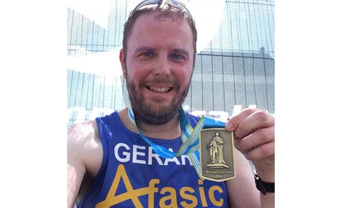 Gerard raises money for children with difficulties talking and understanding - Afasic
