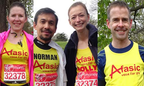 London Marathon raising money for children with difficulties talking and understanding - Afasic
