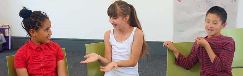 Afasic summer transition courses for children with problems talking and understanding what others say