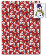 Afasic Christmas wrapping paper
