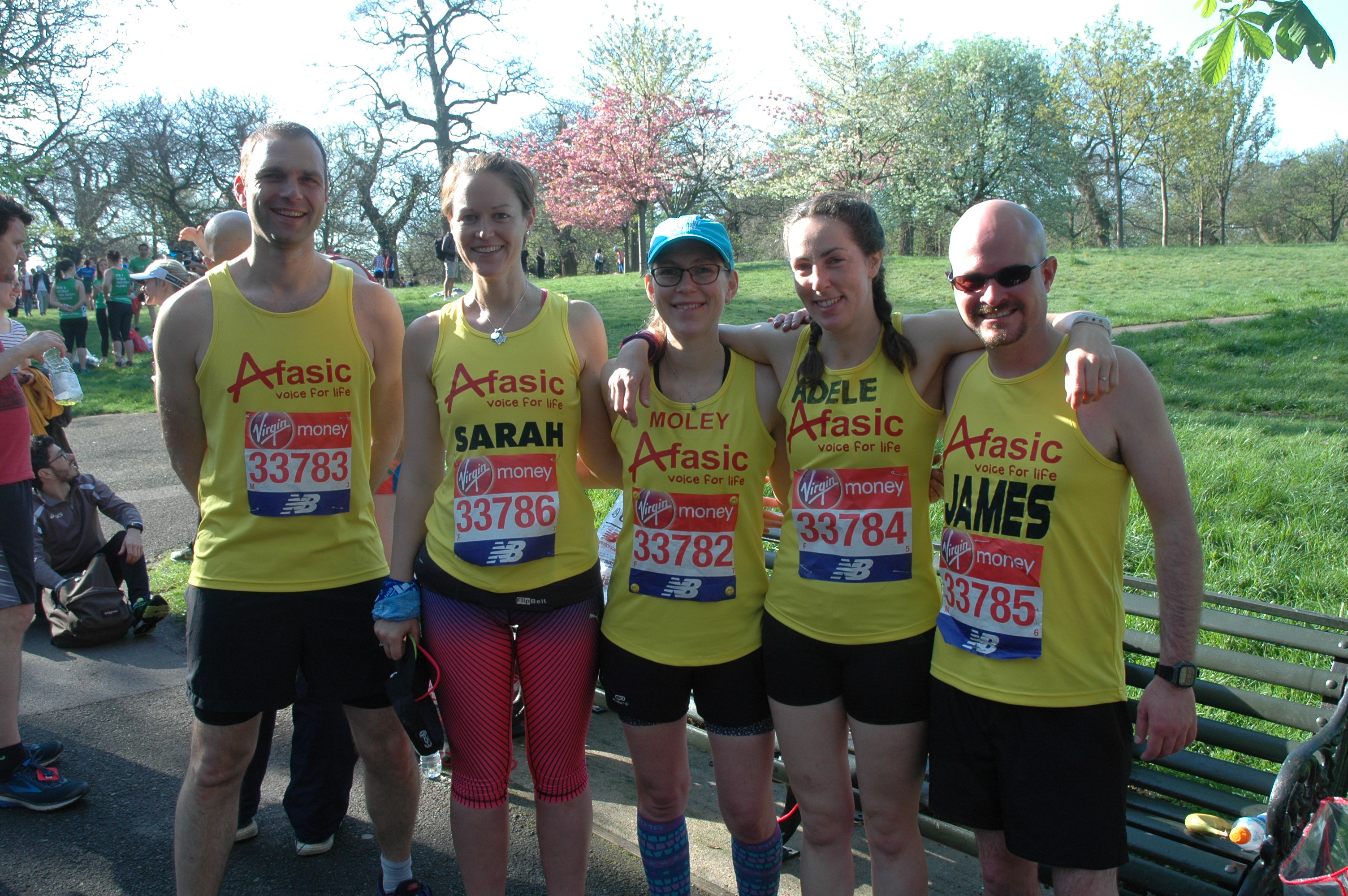 London Marathon Team 2018